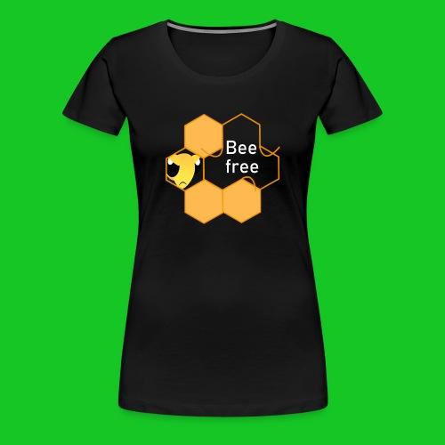 Bee Free - Vrouwen Premium T-shirt