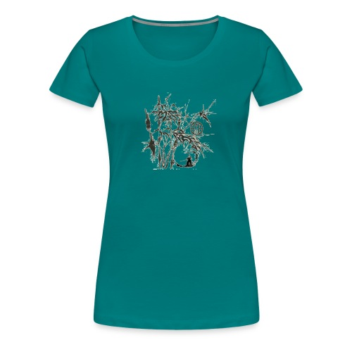bambou4 GIF - T-shirt Premium Femme
