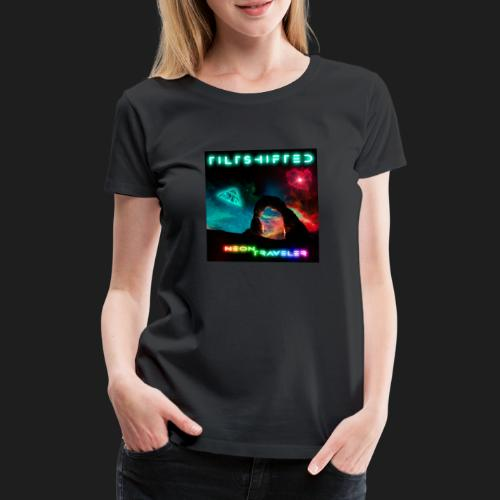TiltShifted - Neon Traveler - Naisten premium t-paita