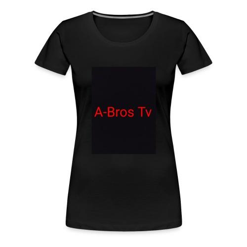 A-Bros Tv red - Frauen Premium T-Shirt