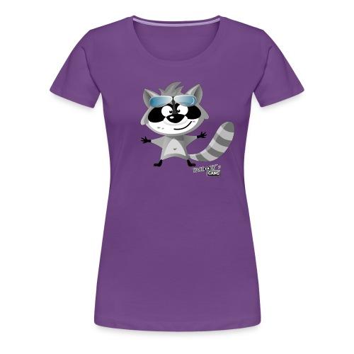 racconys gang beau png - Frauen Premium T-Shirt