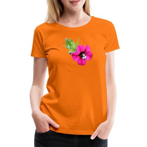 Miljoonakello ja kimalainen - Naisten premium t-paita