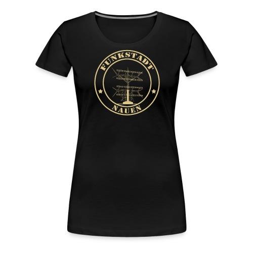 Goldener Funker - Frauen Premium T-Shirt