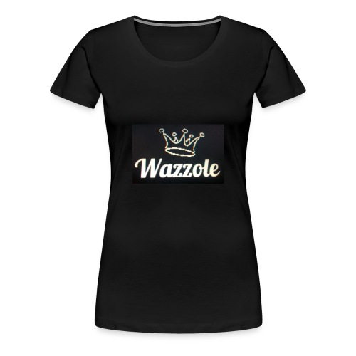 Wazzole crown range - Women's Premium T-Shirt