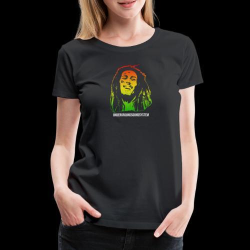 King of Reggae - Frauen Premium T-Shirt
