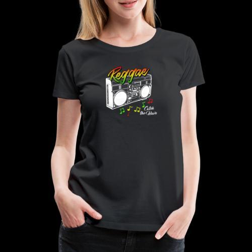 Reggae - Catch the Wave - Frauen Premium T-Shirt