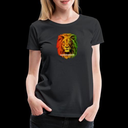 THE LION OF JUDAH - Frauen Premium T-Shirt