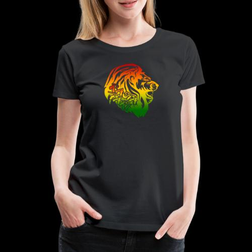 RASTA FARI LION - Frauen Premium T-Shirt