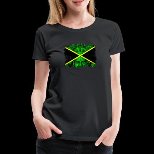 LION BOB JAMAICA - Frauen Premium T-Shirt
