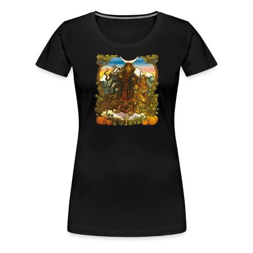 Skade - Premium-T-shirt dam