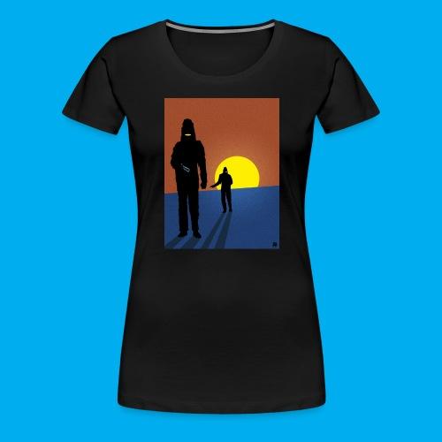 Invader Affair - Women's Premium T-Shirt