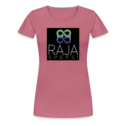 RajaSpeksin logo - Naisten premium t-paita
