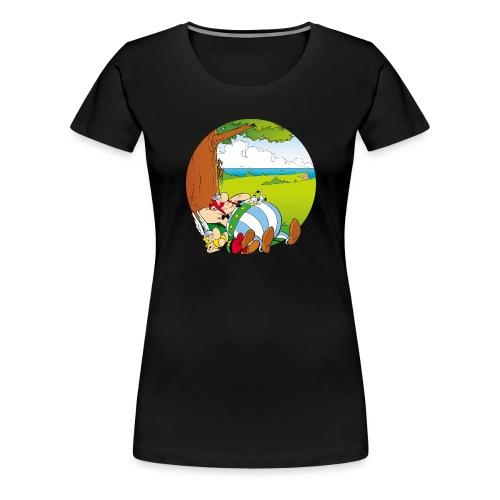 Astérix & Obélix Font Une Sieste - T-shirt Premium Femme