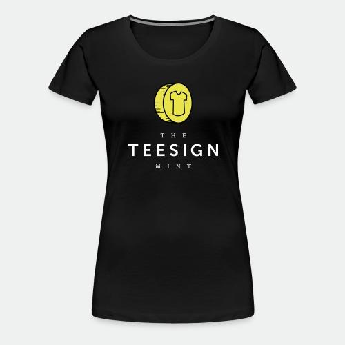 Teesign Mint Tshirt FA 4 - Women's Premium T-Shirt