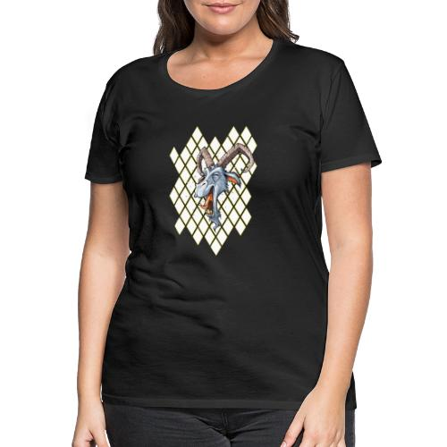blauer bock - Frauen Premium T-Shirt