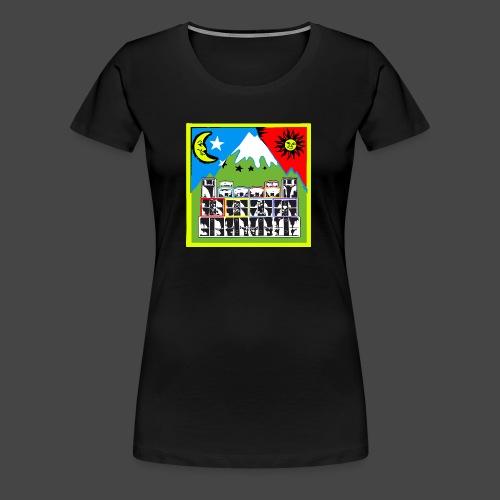 TEKNO SQUAT RESEAU couleur TRIP par TEKNO 23 - T-shirt Premium Femme