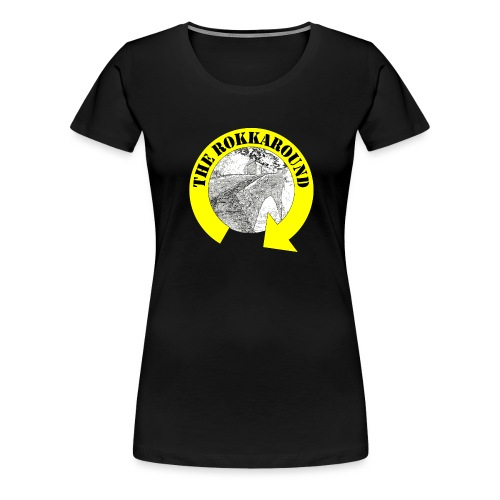 ROKKAROUND - Maglietta Premium da donna