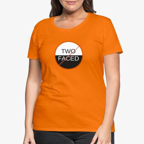 TWO FACED - Premium-T-shirt dam