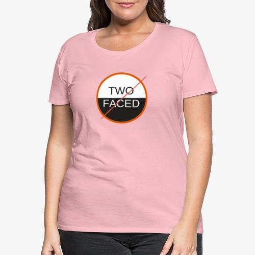 TWO FACED - Premium-T-shirt dam
