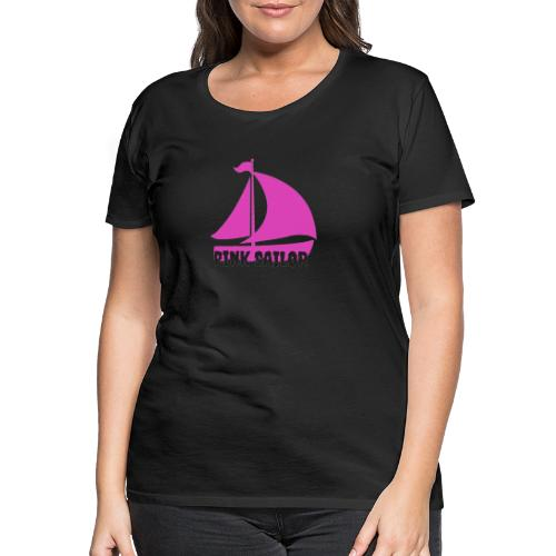 PINK SAILOR - Women's Premium T-Shirt