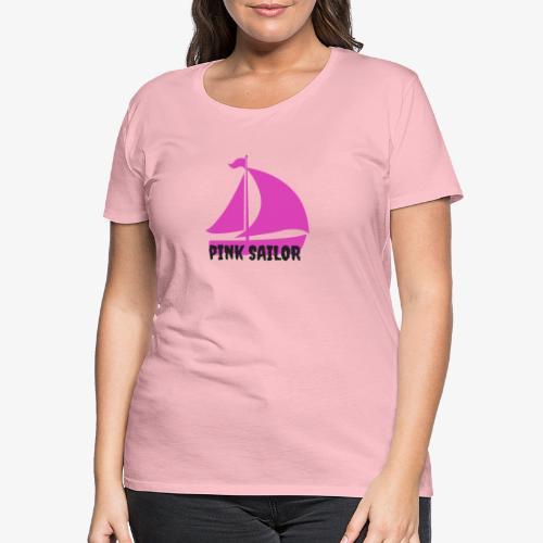PINK SAILOR - Premium-T-shirt dam
