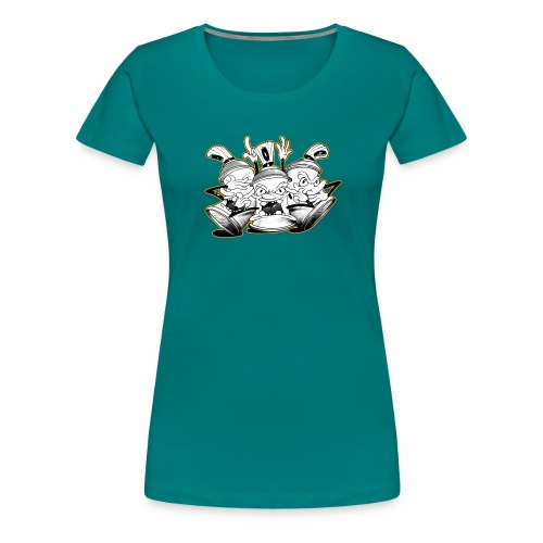 dont tim timmey ver01 - Dame premium T-shirt