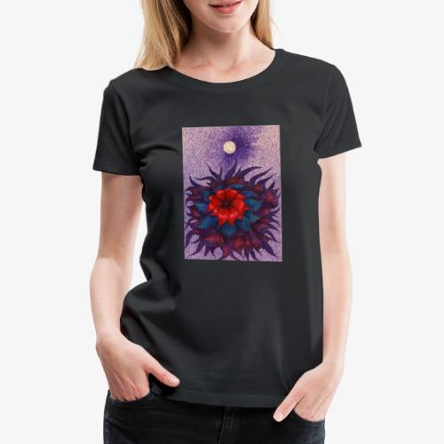 Space Flower - Koszulka damska Premium