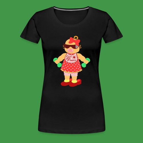 Girl Power 6 - Frauen Premium T-Shirt