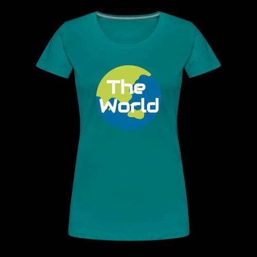 The World Earth - Dame premium T-shirt