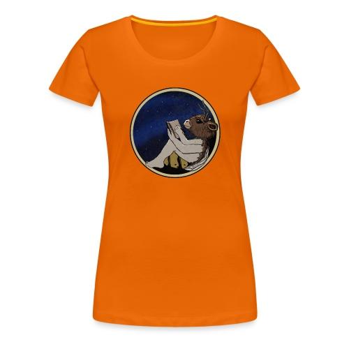 Marilyn's Diary (Round) - Women's Premium T-Shirt