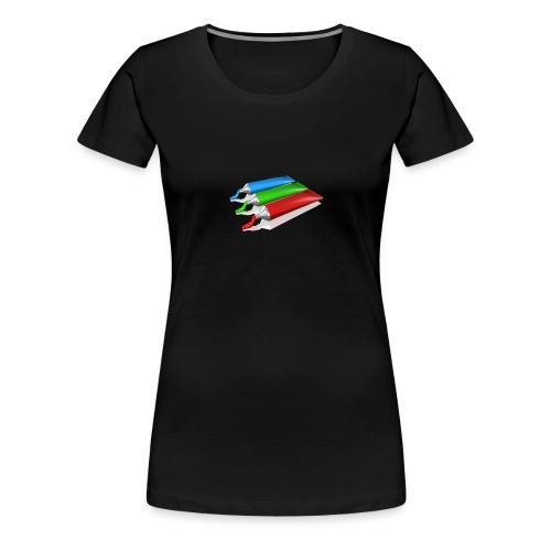 paint - Frauen Premium T-Shirt