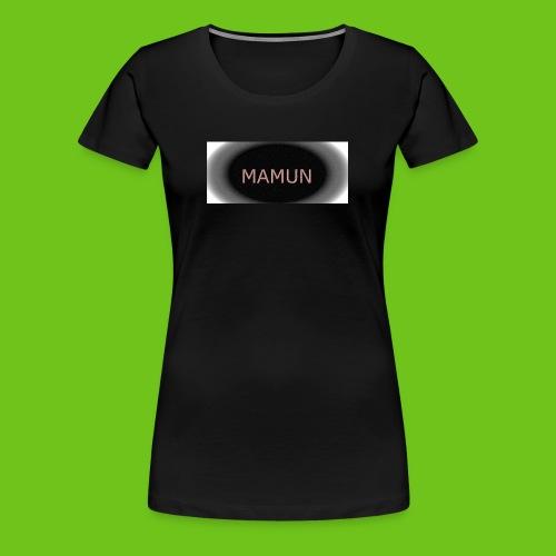 manmun - Dame premium T-shirt