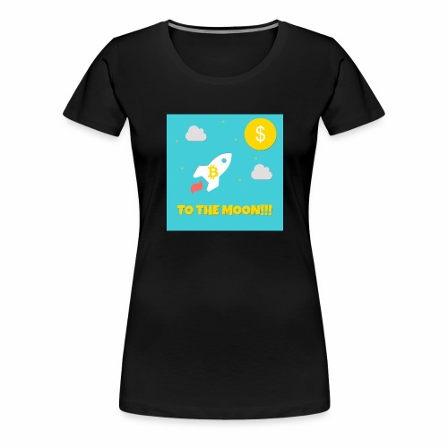 TO THE MOON COLLECTION - Frauen Premium T-Shirt