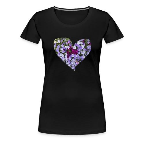 Du bist mein Herzilein - Frauen Premium T-Shirt