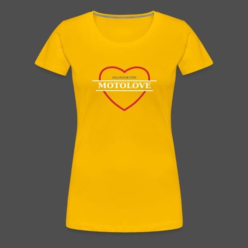 MOTO LOVE - Women's Premium T-Shirt