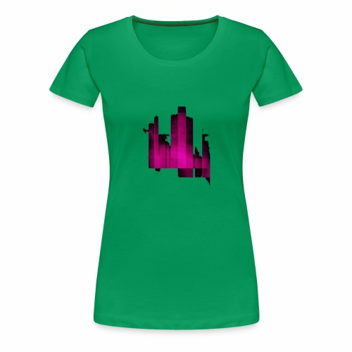 Abstract graphic - T-shirt Premium Femme