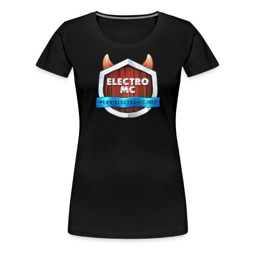 ElectroMC Logo - Vrouwen Premium T-shirt