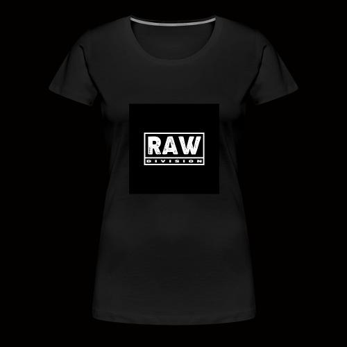 Raw Division tee - Women's Premium T-Shirt
