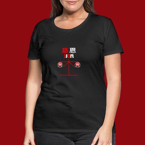 Jion - Shotokan Kata - Karate - Japan - Frauen Premium T-Shirt