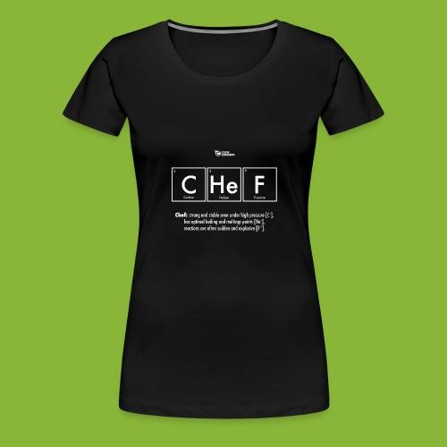 CHEF - Women's Premium T-Shirt