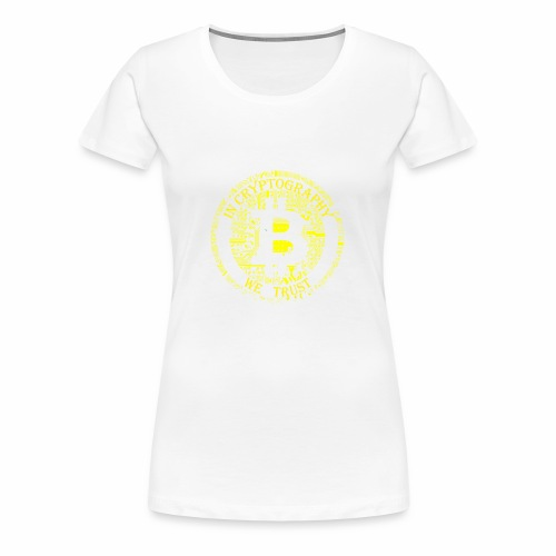 In cryptography we trust 2 - Women's Premium T-Shirt