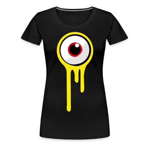 A&B • Eyeball (1 print: front / back) - Naisten premium t-paita