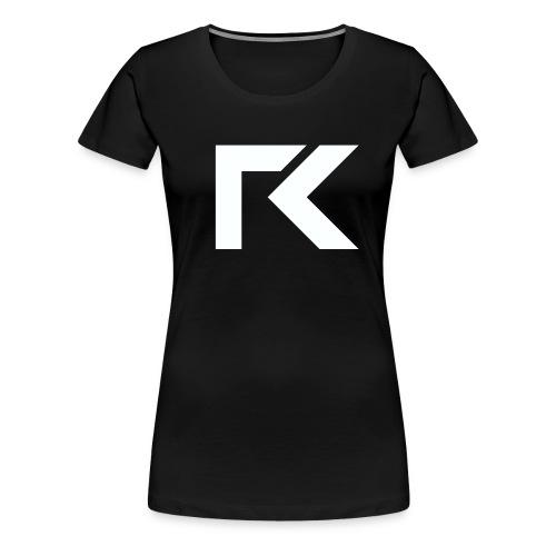 Rxmsey Logo - White - Women's Premium T-Shirt