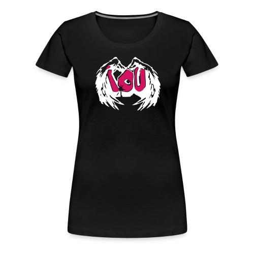 IOU - I owe you - Frauen Premium T-Shirt
