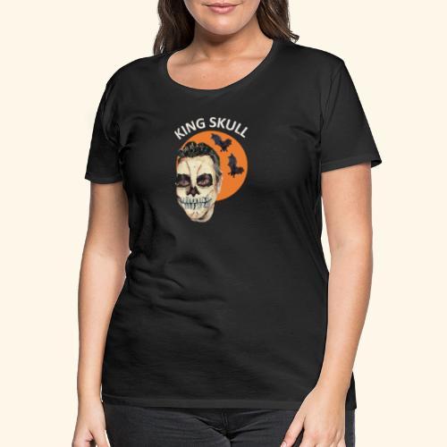 Totenkopf Nahtoderfahrung Mystik - Frauen Premium T-Shirt