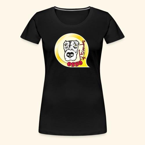Osso4Friends official logo - Maglietta Premium da donna