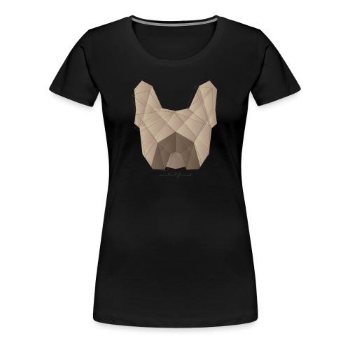 Geometric Frenchie fawn - Französische Bulldogge - Frauen Premium T-Shirt