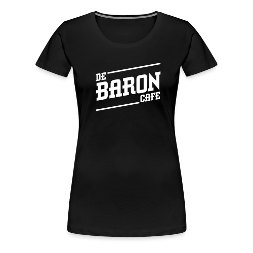 baron no back white - Vrouwen Premium T-shirt