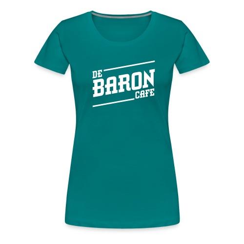 baron no back white - Vrouwen Premium T-shirt