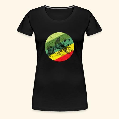 Chinese Panda Retro - Women's Premium T-Shirt